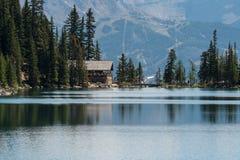 Lago Agnes Tea House Fotografia Stock Libera da Diritti