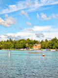 Lago agradable Foto de archivo libre de regalías