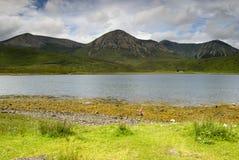 Lago Ainort, Skye Imágenes de archivo libres de regalías