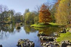 Lago al giardino della st Fiachra fotografia stock