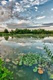 Lago al wahnerheide Fotografia Stock Libera da Diritti