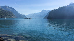 Lago Alfalfa - Suiza Imagenes de archivo