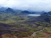 Lago Alftavatn, Islanda Fotografia Stock Libera da Diritti