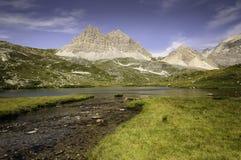 Lago Alipne Fotografia Stock Libera da Diritti