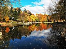 Lago Alliance Kidwell, OH Imagens de Stock