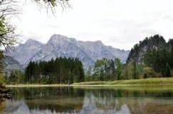 Lago Almsee Immagine Stock