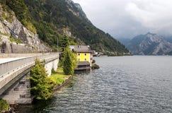 Lago Alpbach Fotografia Stock Libera da Diritti