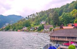 Lago Alpbach Immagini Stock