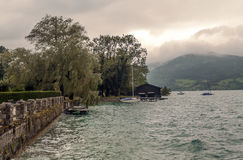 Lago Alpbach Fotografía de archivo libre de regalías