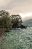 Lago Alpbach Foto de archivo libre de regalías