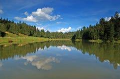 Lago alpestre Foto de archivo