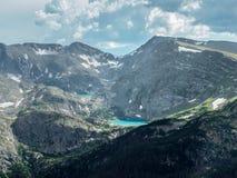 Lago alpestre fotos de archivo