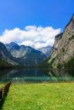 Lago in alpi bavaresi Fotografia Stock
