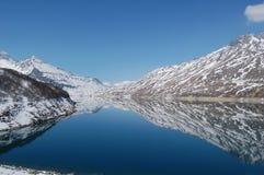 Lago Alpin Fotografie Stock Libere da Diritti