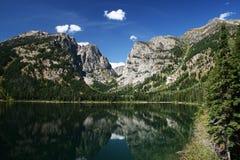 Lago alpino Foto de Stock