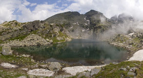 Lago alpino Foto de Stock Royalty Free