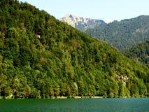 Lago alpino Fotografie Stock Libere da Diritti