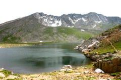 Lago alpino Fotografie Stock