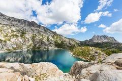 Lago alpino Imagens de Stock Royalty Free