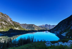 Lago alpino Imagem de Stock