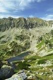 Lago alpino Foto de archivo