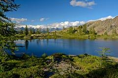 Lago alpino high altitude Fotografie Stock Libere da Diritti