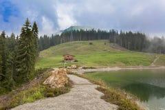 Lago alpino a Hohe Salve, Tirolo Immagine Stock Libera da Diritti