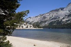 Lago alpino Tenaya Fotos de Stock