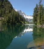 Lago alpino wilderness Immagine Stock
