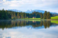 Lago alps Fotografia Stock Libera da Diritti