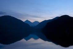 Lago Alpsee Imágenes de archivo libres de regalías