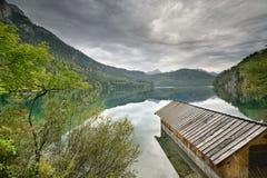 Lago Alpsee Fotografia Stock