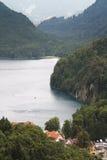 Lago Alpsee in Germania Fotografia Stock Libera da Diritti