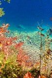 Lago Alpsee La Baviera, Germania Fotografia Stock