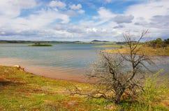 Lago Alqueva Immagini Stock