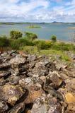 Lago Alqueva Fotografia Stock Libera da Diritti