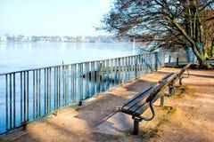Lago Alster, Amburgo Immagine Stock Libera da Diritti