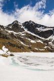 Lago Alta Fotografie Stock