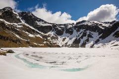 Lago Alta Fotografia Stock