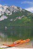 Lago Altaussee, Stiria, Austria Immagini Stock Libere da Diritti