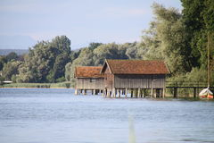 Lago Ammersee Fotografie Stock