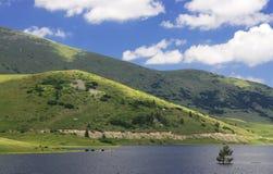 Lago & céu Foto de Stock Royalty Free