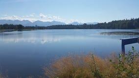 Lago Anchorage Fotografie Stock