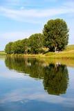 Lago ancora d'acqua dolce Immagini Stock