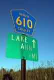 Lago Ann MI Fotos de Stock