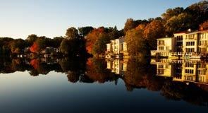 Lago Anne, Reston, la Virginia Immagini Stock Libere da Diritti