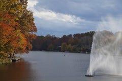 Lago Anne, Reston, la Virginia Fotografia Stock Libera da Diritti