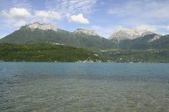 Lago Annecy Foto de Stock Royalty Free
