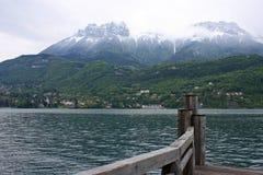 Lago Annecy Fotografia Stock