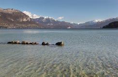 Lago Annecy Imagenes de archivo